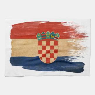 Croatia Flag Tea Towel