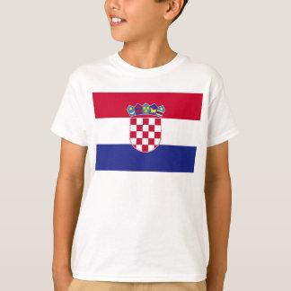 Croatia Flag Tees