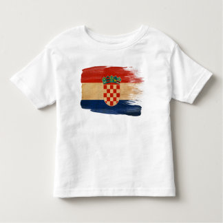 Croatia Flag Toddler T-Shirt