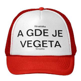CROATIA HRVATSKA VEGETA CAP