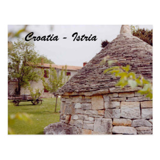 Croatia - Istria Postcard