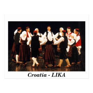 Croatia - LIKA Postcard