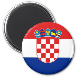 croatia refrigerator magnet