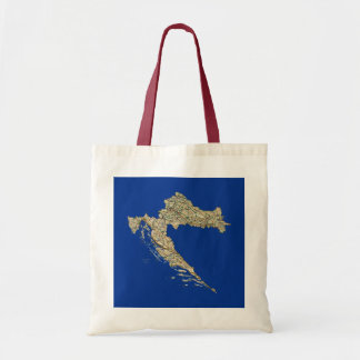 Croatia Map Bag