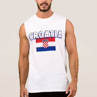 Croatia Men's Ultra Cotton Sleeveless T-Shirt