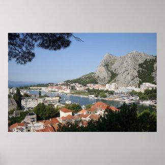 Croatia - Omis Poster