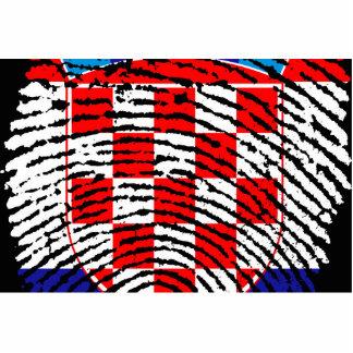 Croatia Standing Photo Sculpture