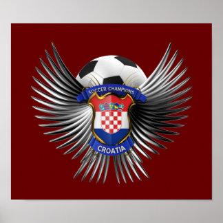 Croatia Soccer Champions Posters