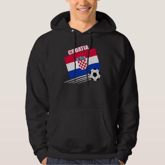 Croatia Soccer Team Hooded Pullovers