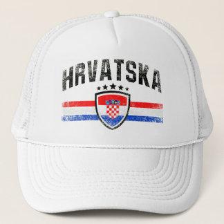 Croatia Trucker Hat
