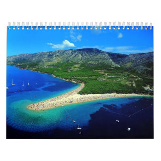 Croatia Wall Calendar