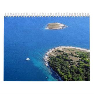Croatian Adriatic sea Calendars