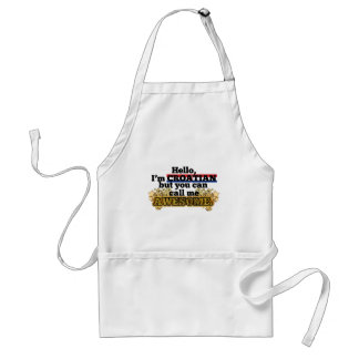 Croatian, but call me Awesome Standard Apron