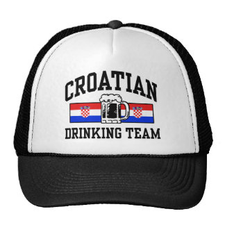 Croatian Drinking Team Cap