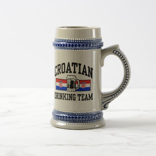 Croatian Drinking Team Coffee Mug