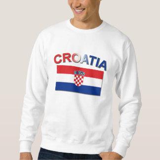 Croatian Flag 2 Sweatshirt