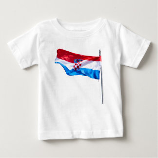 Croatian Flag Baby T-Shirt