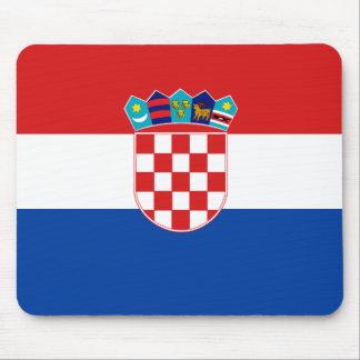 Croatian Flag Mouse Pad