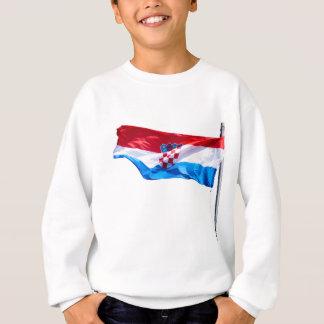Croatian Flag Sweatshirt