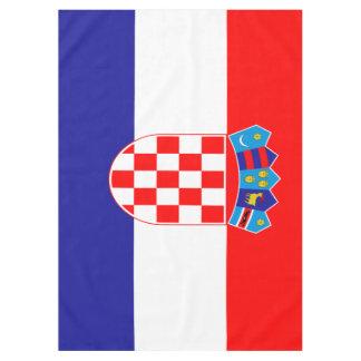 Croatian flag tablecloth