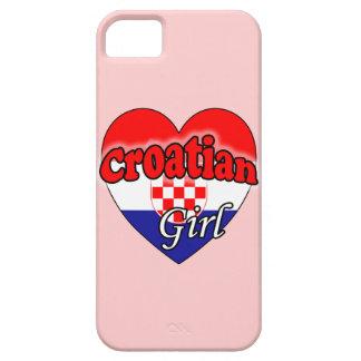 Croatian Girl iPhone 5 Case