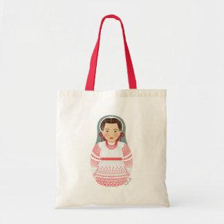 Croatian Girl Matryoshka Bag
