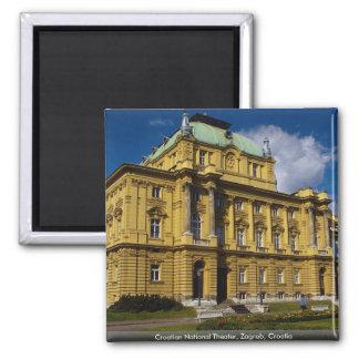 Croatian National Theater, Zagreb, Croatia Magnet