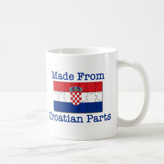 Croatian Parts Coffee Mug