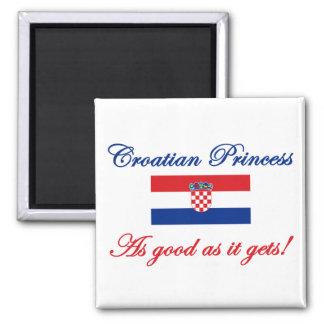 Croatian Princess Magnet