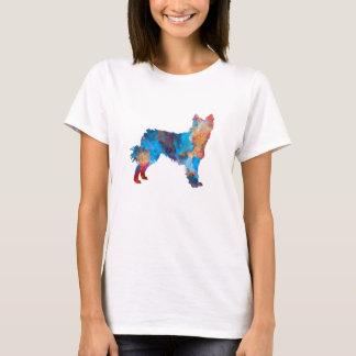 Croatian Sheepdog in watercolor T-Shirt
