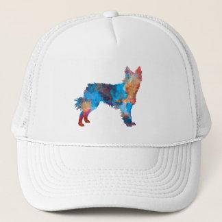 Croatian Sheepdog in watercolor Trucker Hat
