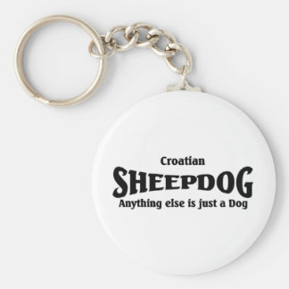 Croatian Sheepdog Key Ring
