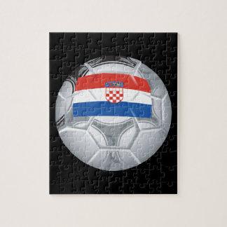 Croation Soccer Ball Jigsaw Puzzles