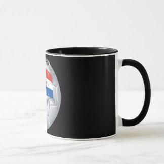 Croation Soccer Ball Mug