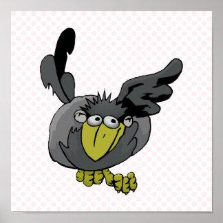Crobbly Crow Print