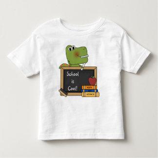 Croc says School is Cool! Fun T - Shirt