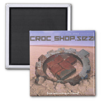 "CROC SHOP ""Best Of"" CD Cover Magnet"