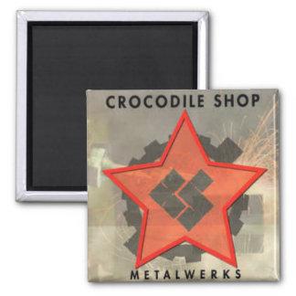 CROC SHOP Metalwerks CD Cover Magnet