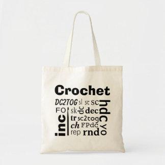 Crochet Abbreviations Tote