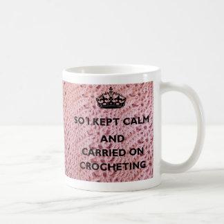 Crochet Coffee Mug