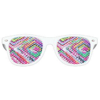 Crochet Crazy Granny Square Party Glasses Fun Gift