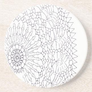 Crochet Design Coaster