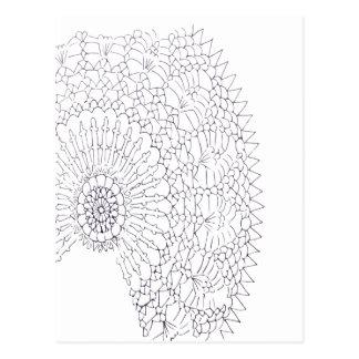 Crochet Design Postcard