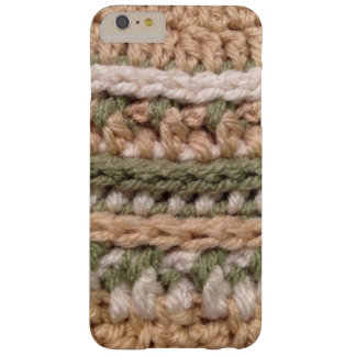 Crochet Earth Tones Barely There iPhone 6 Plus Case