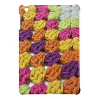 Crochet Granny Square iPad Mini Case