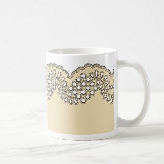 Crochet Lace Coffee Mug