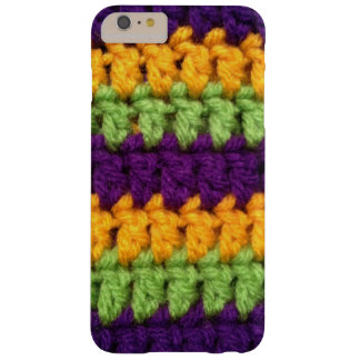 Crochet Mardi Gras Barely There iPhone 6 Plus Case
