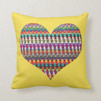 Crochet Pillow - Crochet Lovers Pillow