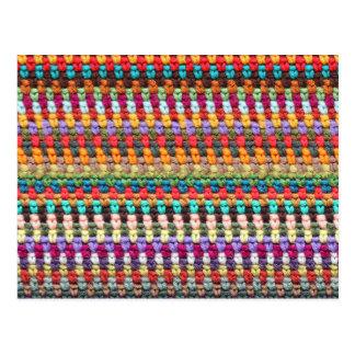 Crochet Postcard - Yarn Postcard