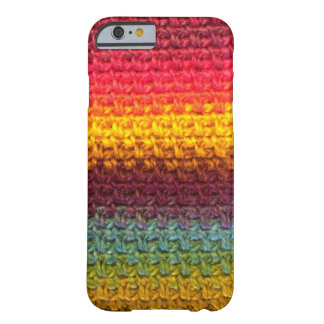 Crochet Rainbow Barely There iPhone 6 Case